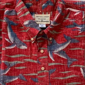 NWOT Dietrich Vkrez collection aloha shirt